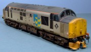 Class 37/5, 37514, Railfreight Metals Sector livery, 1:76