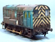 Class 08, BR Blue, 1:76/OO Scale