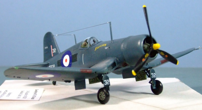Goodyear FG-1D Corsair, 14 Sqn, RNZAF, Japan, 1946. 1:72