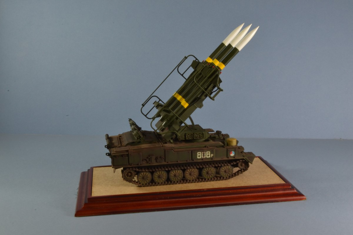 SAM 6, Czech Army