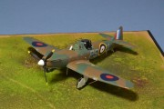Airfix Bolton-Paul Defiant Mk 1, 264 Sqn, July 1940
