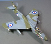 Hunter F6, 1:48 56 Sqn, 1959